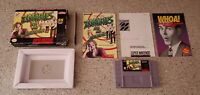 Zombies Ate My Neighbors Super Nintendo SNES Game CIB Complete Box & Manual Lot!