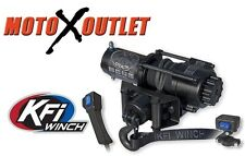 KFI Stealth 3500 lbs Winch Kit Black Out Model Atv Utv Synthetic Rope SE35