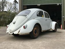 October '59 built Beetle project with RESTORED CHASSIS. See pics.