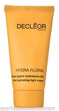 Decleor Hydra Floral 24Hr Luz Hidratante Crema Hidratante Viaje Tamaño 15ml