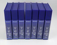 New listing Sony Dvcam MiniDv Pdvm-41N - 7 Tapes