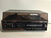 Sony HP-318 Stereo Music System Record Turntable 8 Track Combo Receiver wow