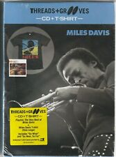 Miles Davis Threads + Grooves Best Of Cd + Large T-Shirt Box New And Sealed