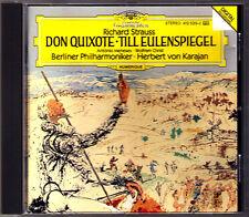 Herbert von KARAJAN STRAUSS Don Quixote Till Eulenspiegel PDO CD Antonio Meneses