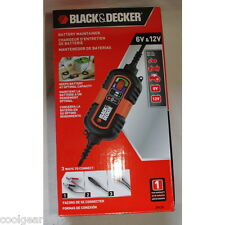 NEW Black & Decker Car Battery Trickle Charger/Maintainer/Tender - 6V & 12V BM3B