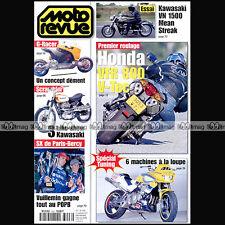 MOTO REVUE N°3496 HONDA VFR 800 DUCATI 600 MONSTER KAWASAKI VN 1500 McGRATH 2001