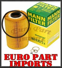 BMW Engine Oil Filter Mann Filter Hu930/3x / 11429063138 OEM Quality Germany