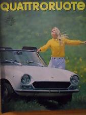 Quattroruote 140 1967 - Test su strada MASERATI 3.7 Iniezione -     [Q33]