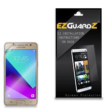 2X EZguardz Clear Screen Protector Shield HD 2X For Samsung Galaxy J2 Prime