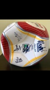NY Red Bulls Signed Ball by 2011 Squad. 20 players, Thierry Henry, R. Marquez.