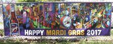 Terrance Osborne New Orleans Mardi Gras Barqs 2017 Advertising Promotion BANNER