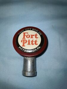 Vintage Fort Pitt Beer Ball Tap Knob – Pittsburgh, PA.