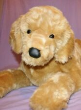 "SHERMAN Douglas GIANT 46"" plush GOLDEN RETRIEVER stuffed animal DOG"