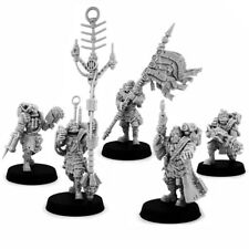 Imperial Guard - Imperial Dead Dogs Command Squad (5U) - Wargames Exclusive