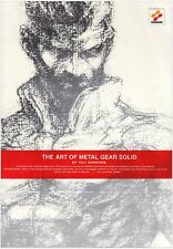 THE ART OF METAL GEAR SOLID Yoji Shinkawa Art Book