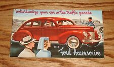 1940 Ford Car Accessories Sales Brochure 40