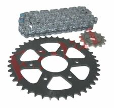 New Chain & Sprocket Kit 6 Hole 8mm for KTM Duke 200 Motorcycles AUD