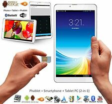 Unlocked 3G Smart Phone Call Phablet Tablet PC Dual Sim Dual Standby Dual Camera