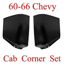 60 66 Chevy Cab Corner Set, Truck, GMC, 1.0MM Thick!! Left & Right Sides