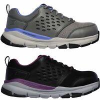 Skechers Women's 77269 Soven SR Corrick Alloy Toe Slip Resistant Work Shoes