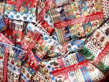 Christmas Ribbon Mixed Grosgrain Packs 20 Designs - 50cms lengths -Craft