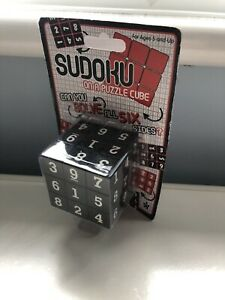 Sudoku on a Puzzle Cube BRAND NEW SEALED Game Solve Rubiks Gift Difficult Fun