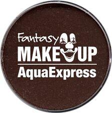 braune Aqua Express Make Up Wasserschminke 15g braun Schminke Karneval Fasching