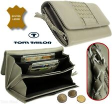 TOM TAILOR Damen Portemonnaie große Brieftasche Leder Geldbörse Geldbeutel Börse