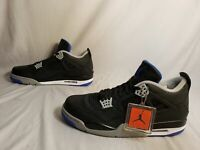 Air Jordan Men's 4 Retro Alternate Motorsports Shoes MW7 Black 308497 Size US:15