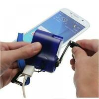 EDC USB Phone Hand Crank Emergency Charger For Outdoor Camping Hiking Survival