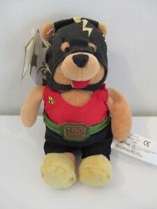 """Disney Store - Winnie the Pooh Mini Bean Bag 8"""" - Retired - Stinger (Wrestler)"""