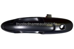 for Mazda MPV Outside Outer Exterior Door Handle Left Front Driver Black Smooth