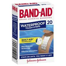 Bandaid Tough Strips Waterproof - 20 Pack Tough-Strips Quilt-Aid Technology