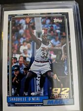"""1992-93 Topps ROOKIE #362 Shaquille """"Shaq"""" O'Neal  GEM MINT Possible PSA 10"""