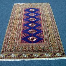 Orient alfombra Afghan 155 x 103 cm Bakhara azul torkman Turkman Carpet Rug tapis