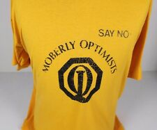 VINTAGE MOBERLY OPTIMISTS CLUB MISSOURI MO FOTL BEST #1 JIM JERSEY T-SHIRT XL