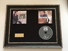 SIGNED/AUTOGRAPHED SHANE FILAN - LOVE ALWAYS FRAMED CD PRESENTATION.WESTLIFE