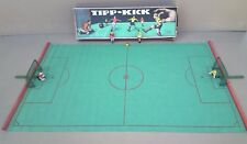 Ancien jeu foot de table TIPP KICK vintage boite 2 joueurs goal plomb cage métal