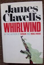 Whirlwind by James Clavell hardback Morrow USA 1st 1986
