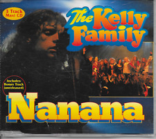 THE KELLY FAMILY - Nanana CD SINGLE 3TR Europe 1997 (EMI)