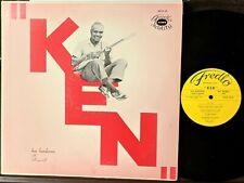"FOLK JAZZ CALYPSO BLUES LP: KEN HENDERSON ""Ken"" FREDLO RECORDS Davenport, Iowa"