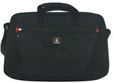 "Swiss Gear Laptop Bag Carry On Shoulder Strap Padded Tablet 15"" book school"
