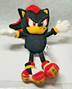 Sonic the Hedgehog Shadow Plush Stuffed Doll SEGA Toy Figure Rare X Project
