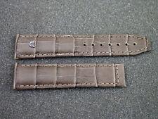 Maurice Lacroix Lederband braun 20 mm für Faltschliesse