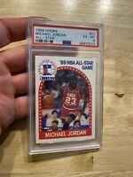 Michael Jordan PSA 6 Collector 1989 Hoops #21 Chicago Bulls INVEST Last Dance 🐐