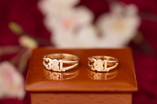 9ct friendship / committment rings