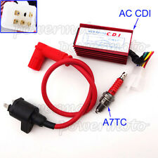Pit Dirt Bike Racing Ignition Coil 5 Pin AC CDI Spark Plug For Chinese ATV Quad
