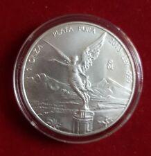 2013 Mexico Ley 999 Fine Silver, Libertad, 1 ONZA PLATA pura UNC