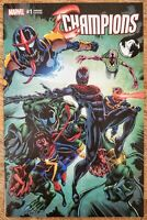 CHAMPIONS #1 Unknown COMICS VENOMIZED VARIANT !!