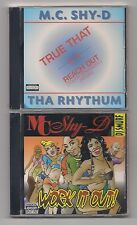 MC SHY-D - Lot of 2 CD's SEALED Work it out & True that 1996 - 1997 Benz Records